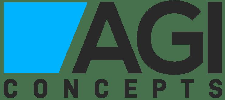 AGI Concepts Logo Blue
