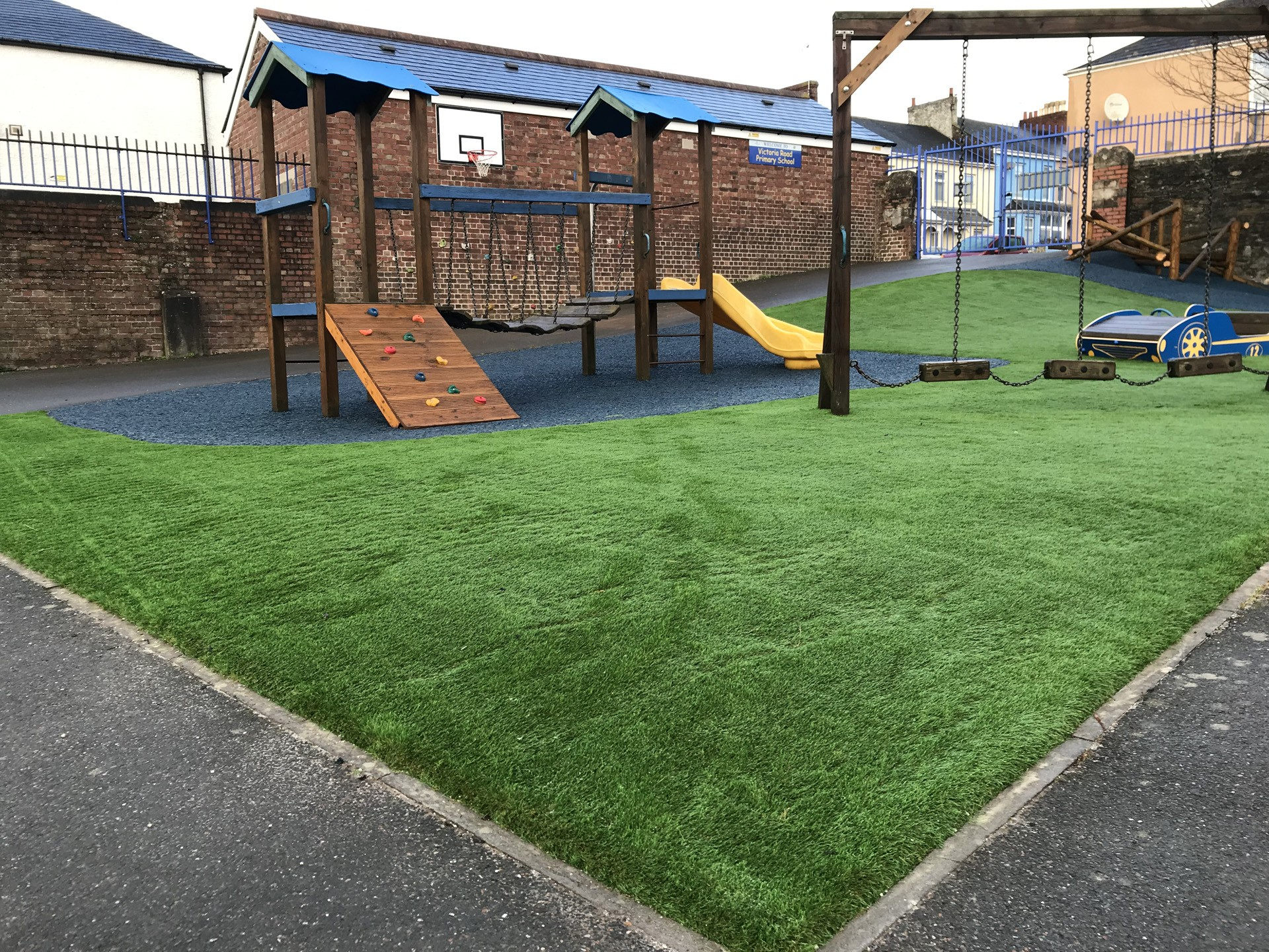 AGI Playground on Synthetic Safety Grass