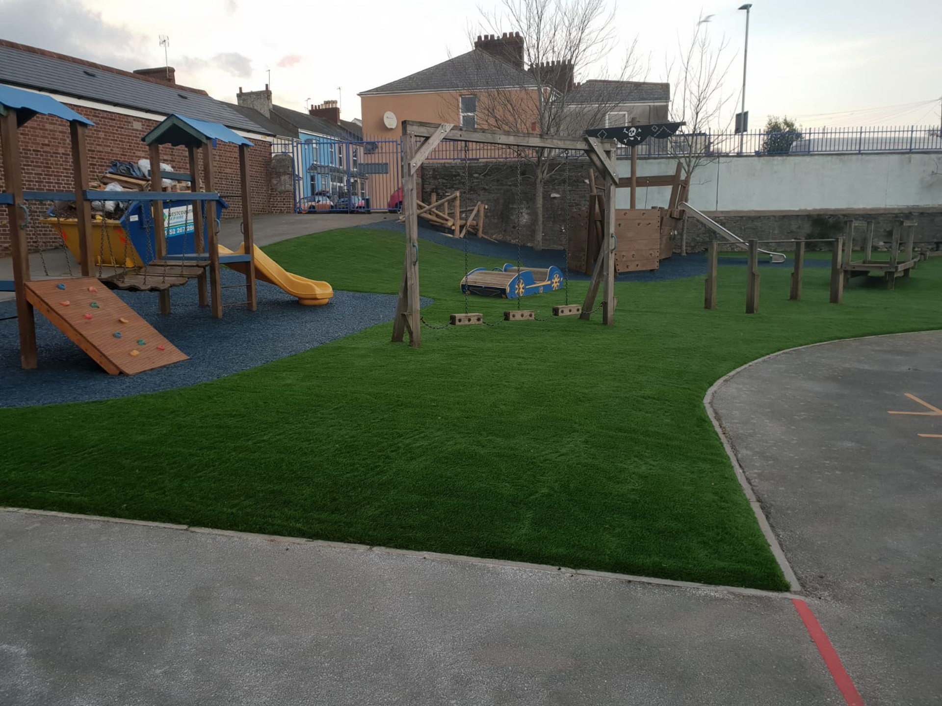 AGI Playgrounds with safety surfaces