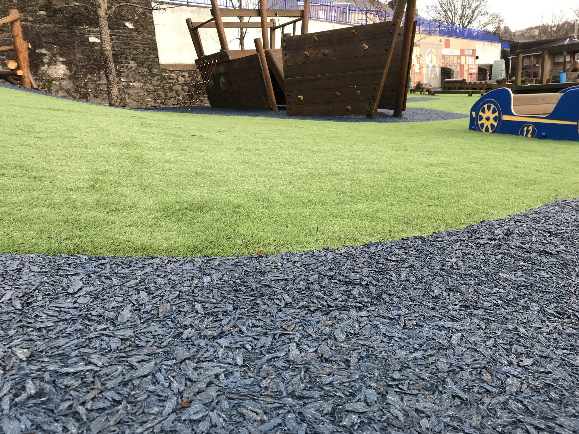 AGI Synthetic Grass and Safety Surfaces for playgrounds