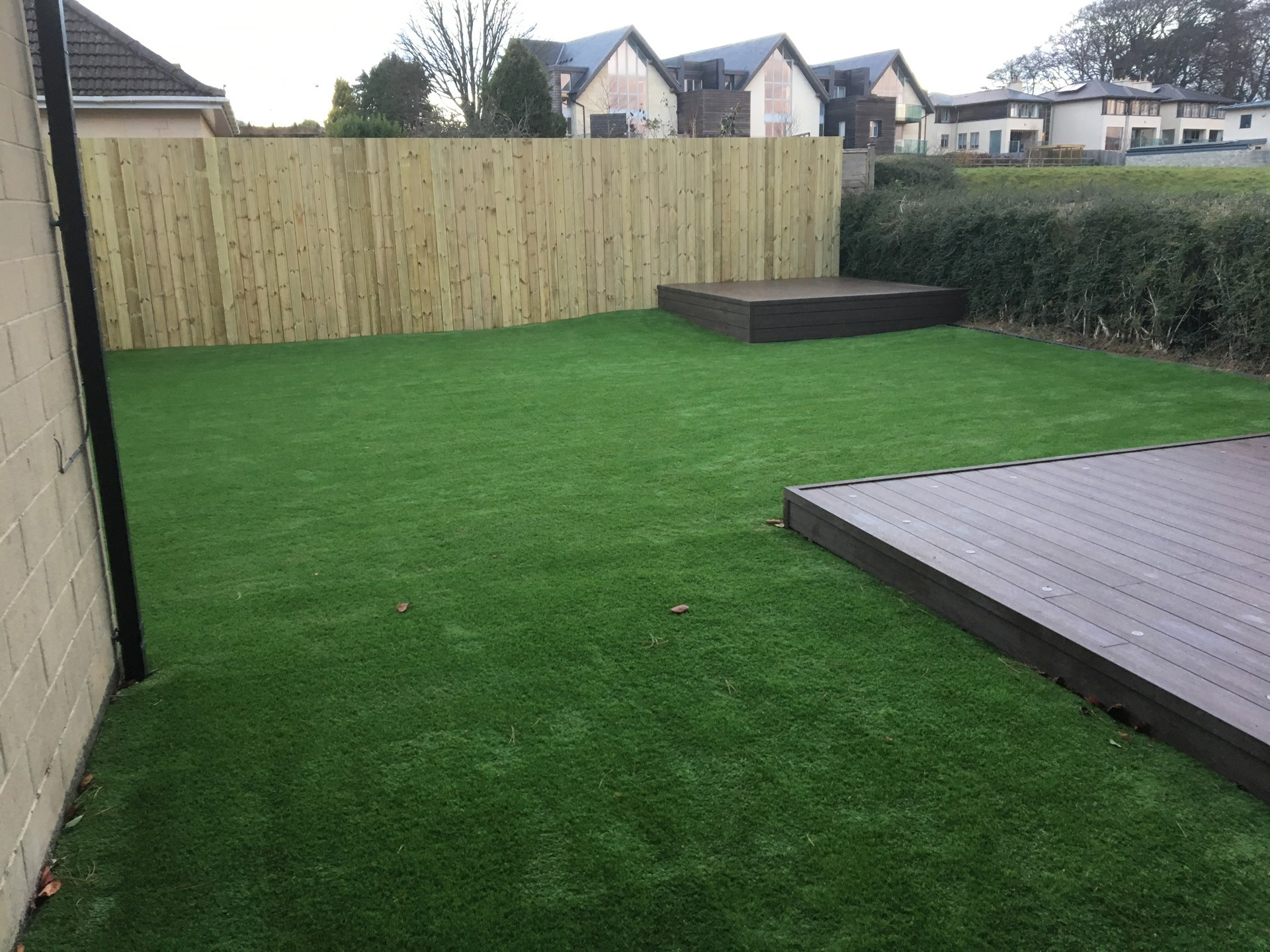 AGI artificial grass for back gardens