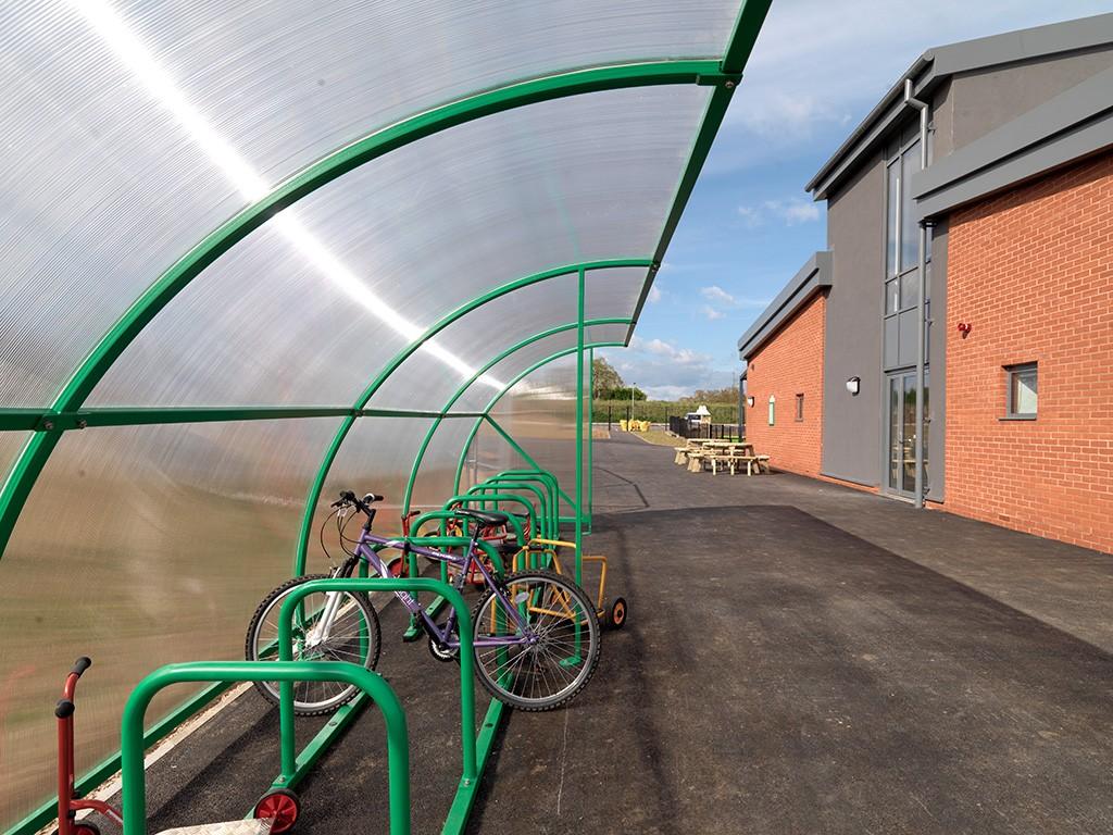 AGI Concepts - Bike Shelter