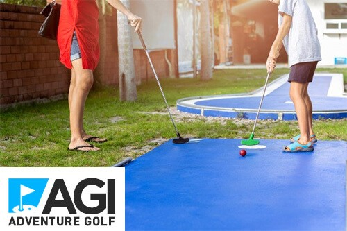 AGI Concepts - AGI Adventure Golf Mini Golf