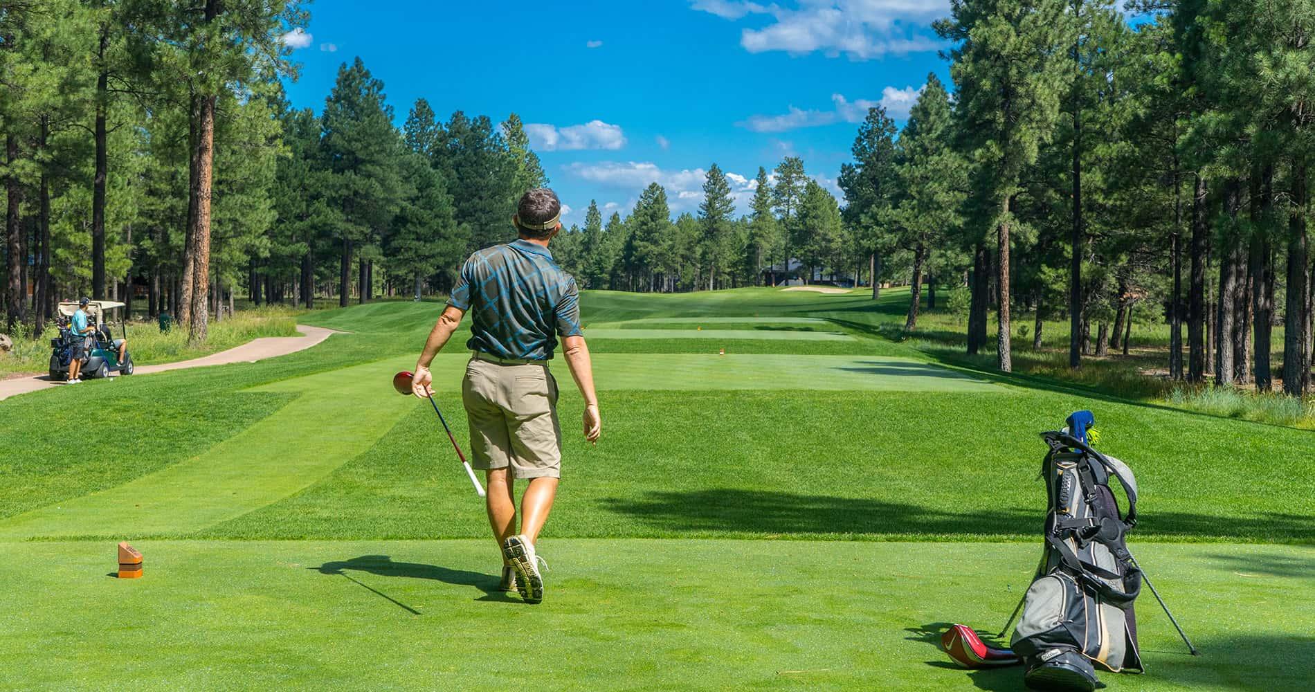 AGI Concepts - Man playing golf