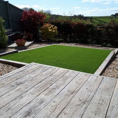 AGI Artificial Grass with Decking